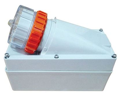 Picture of TRADESAVE Appliance Inlet 5 Pin 32A Round, IP66, Stainless