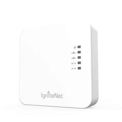 Picture of IGNITENET Mini MU-MIMO Dual-Band AC1200 Wave 2 WiFi  Access Point.
