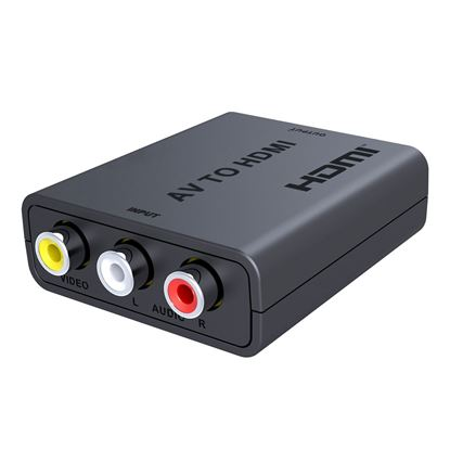 Picture of LENKENG RCA to HDMI Converter. Instantly Converts & Upscales AV