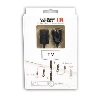 Picture of DYNAMIX IR Extender Over HDMI. Includes IR Receiver & IR Emitter.