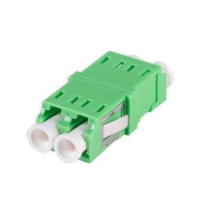 Picture of DYNAMIX Flangeless Fibre LC APC/LC APC Duplex Single-mode