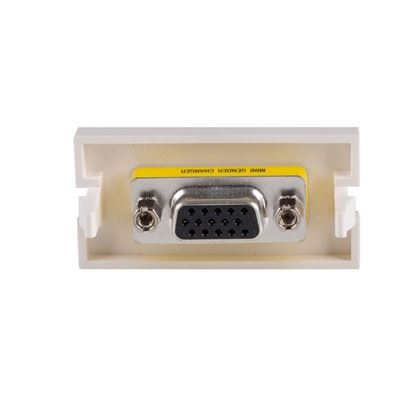 Picture of DYNAMIX VGA HD15 Female to Female Bezel for AVP-3UFP Plate