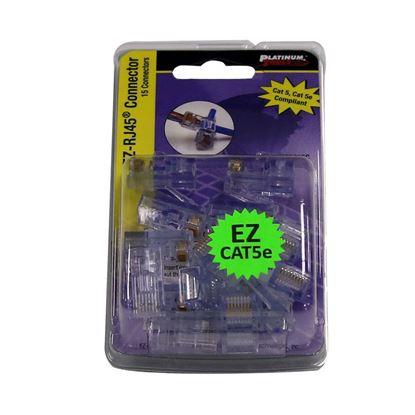 Picture of PLATINUM TOOLS Cat5e EZ-RJ45 Plug.