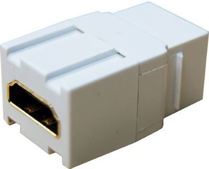 Picture of DYNAMIX HDMI Keystone Jack. High-Speed with Ethernet Rated