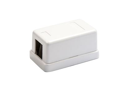Picture of DYNAMIX 1 Port Unloaded Keystone Wall Mount Enclosure