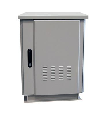 Picture of 45RU Outdoor Freestanding Cabinet.