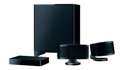Picture of ONKYO 2.1 Channel Speaker System. Learns TV remote controller command