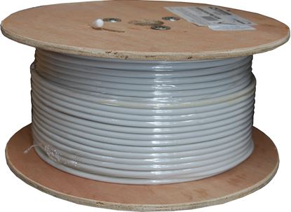 Picture of 152M Roll RG6 Shielded Cable White