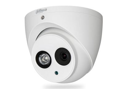 Picture of DAHUA 4MP HDCVI IR Turret Camera.