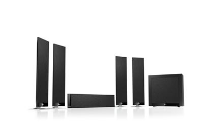 Picture of KEF Home Theatre Speaker System.